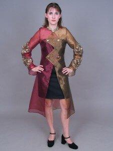Wearable Art by Rebecca Wendlandt: Diamond Coat