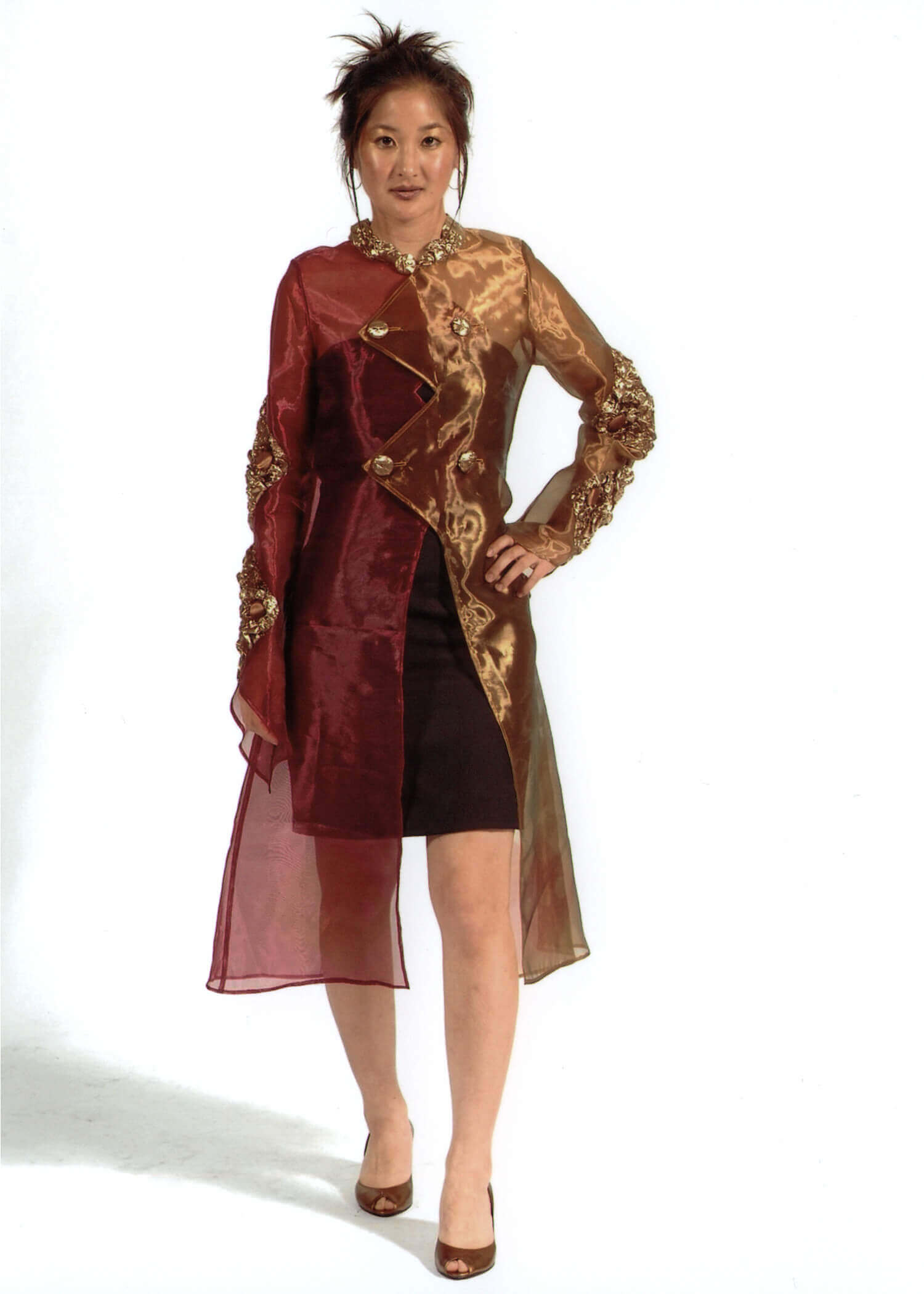 Wearable Art by Rebecca Wendlandt: Diamond Coat