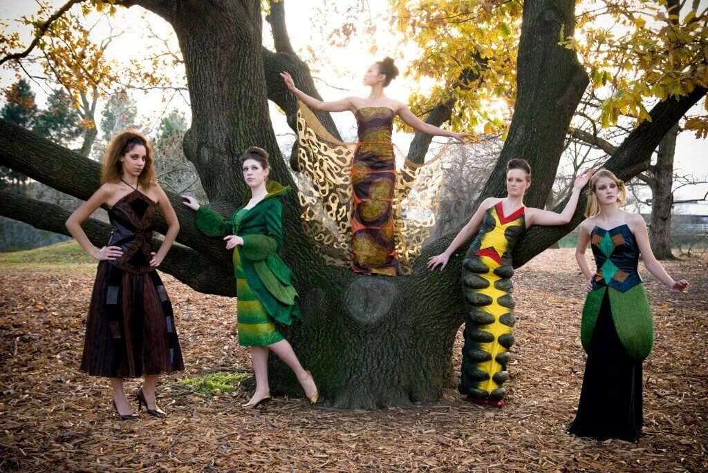 Wearable Art by Rebecca Wendlandt: Insect Couture