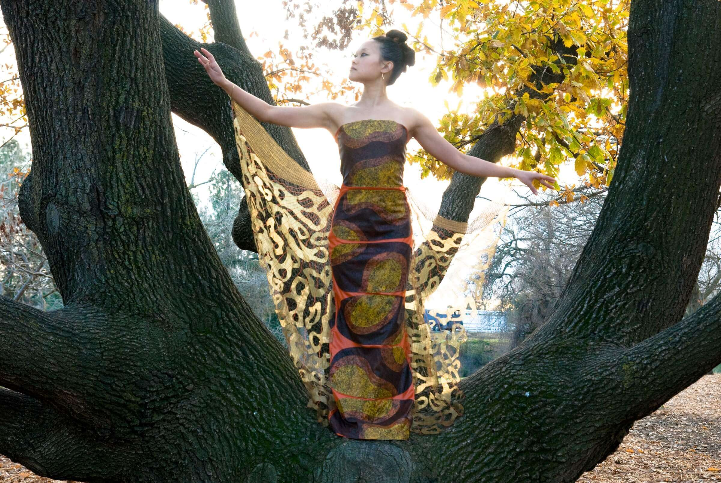 Wearable Art by Rebecca Wendlandt: Insect Couture: Lady Dragonfly
