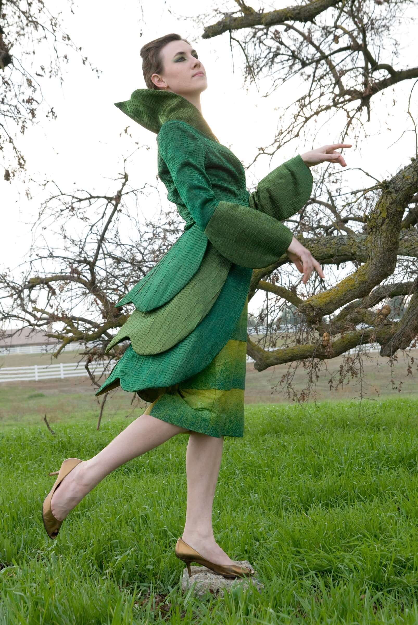 Insect Couture - Lady Mantis - Side