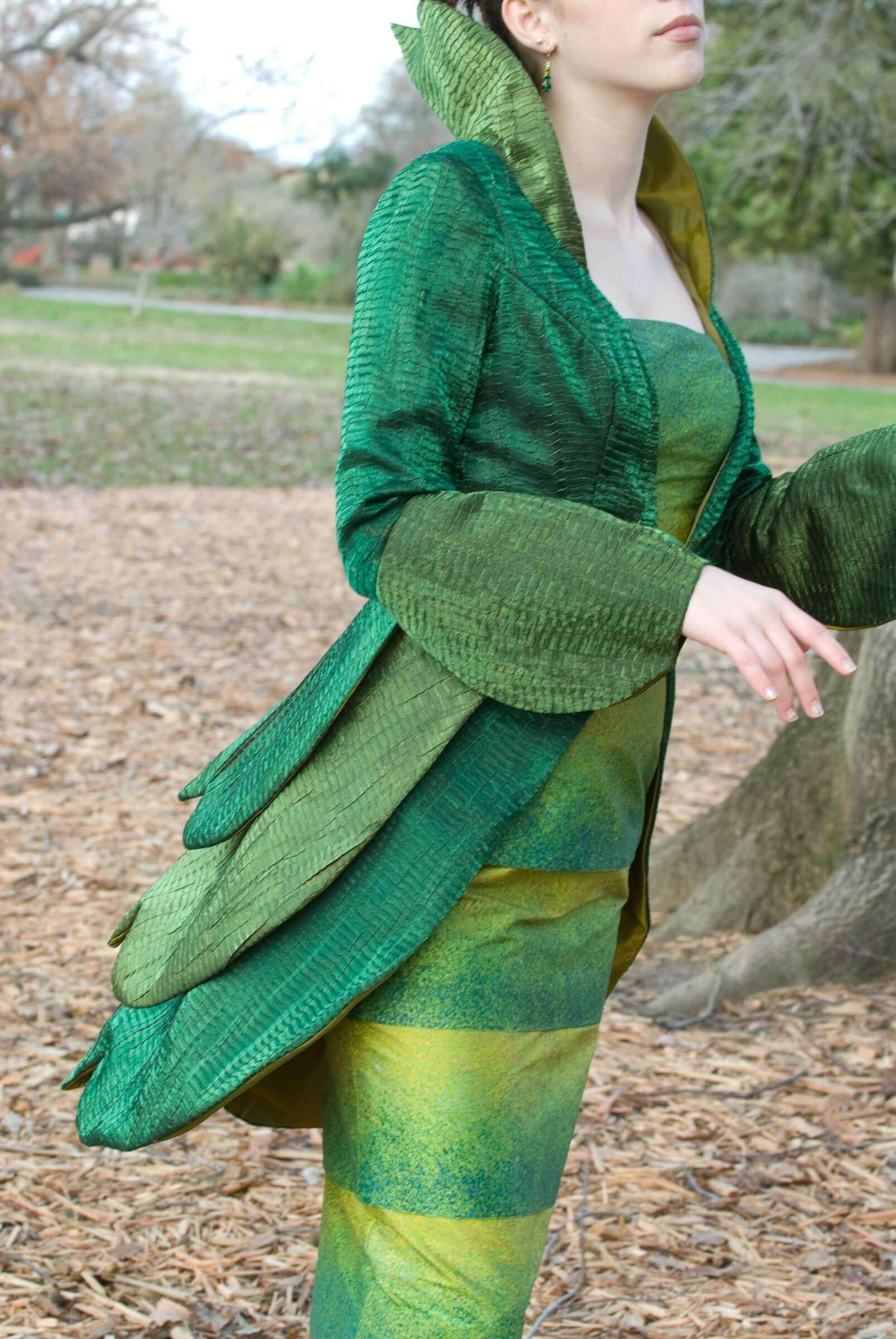 Wearable Art by Rebecca Wendlandt: Insect Couture: Lady Mantis