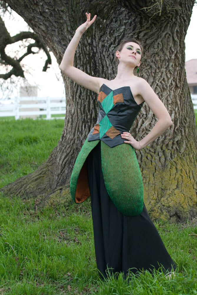Wearable Art by Rebecca Wendlandt: Insect Couture: Madame Beetle