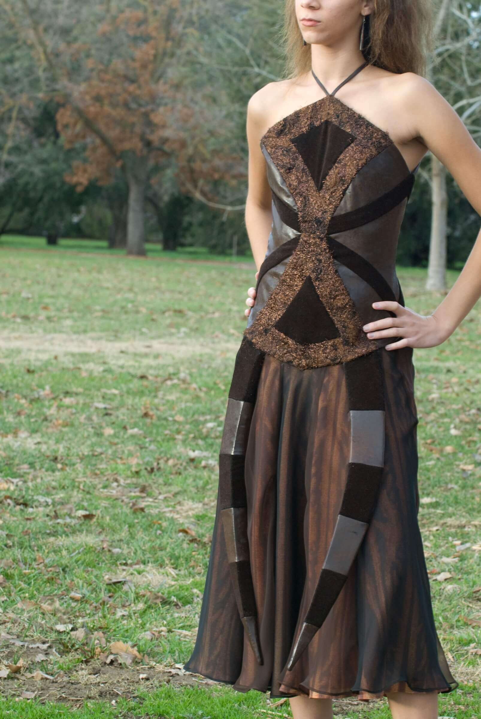Wearable Art by Rebecca Wendlandt: Insect Couture: Madame Spider