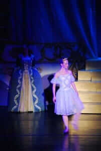 custom theater costumes for the Cinderella Ballet with the Applegate Dance Company by Rebecca Wendlandt