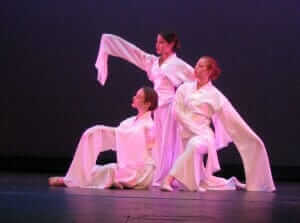 custom made ballet costumes for Sheng Ji and Applegate Dance Company - By Rebecca Wendlandt