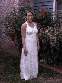 custom wedding dress for Eden by Rebecca Wendlandt