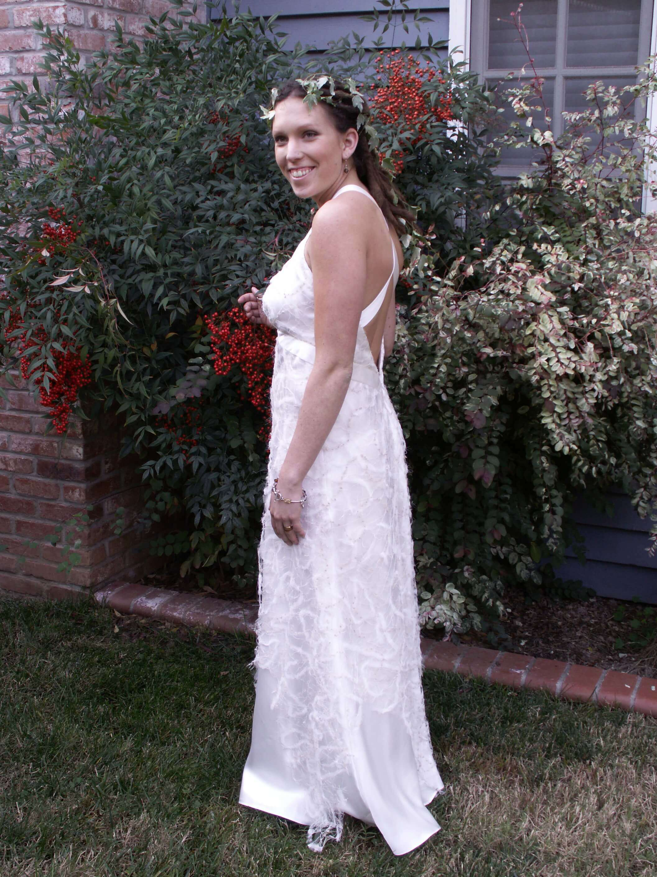 custom wedding dress for Eden by Rebecca Wendlandt