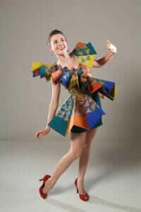 Wearable Art by Rebecca Wendlandt: Exuberant