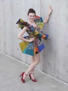 Wearable Art by Rebecca Wendlandt: Exuberant