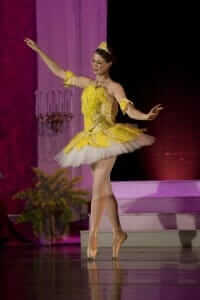 custom theater costumes for the Sleeping Beauty Ballet with the Applegate Dance Company by Rebecca Wendlandt