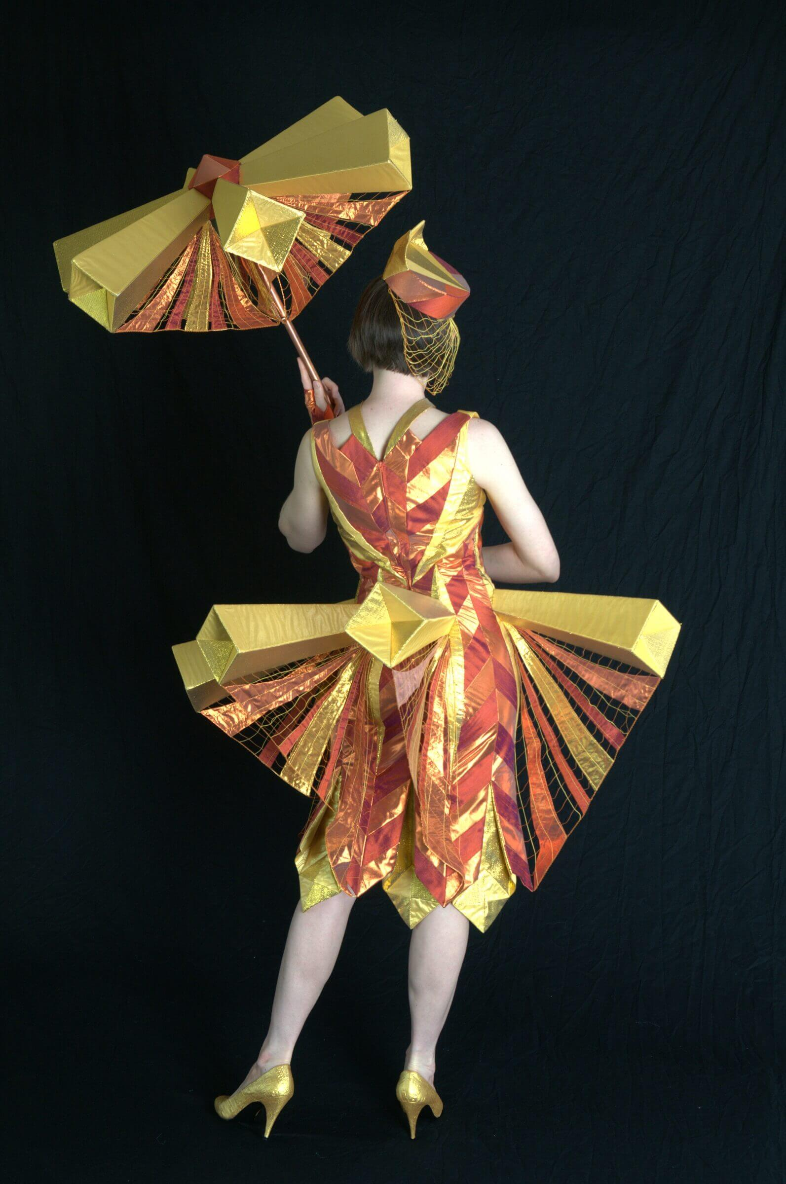 Wearable Art by Rebecca Wendlandt: Solar Flare