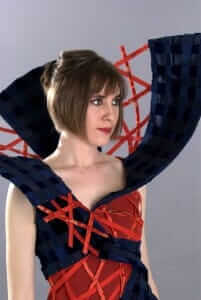Wearable Art by Rebecca Wendlandt: Vortex - Allure of the Big Top