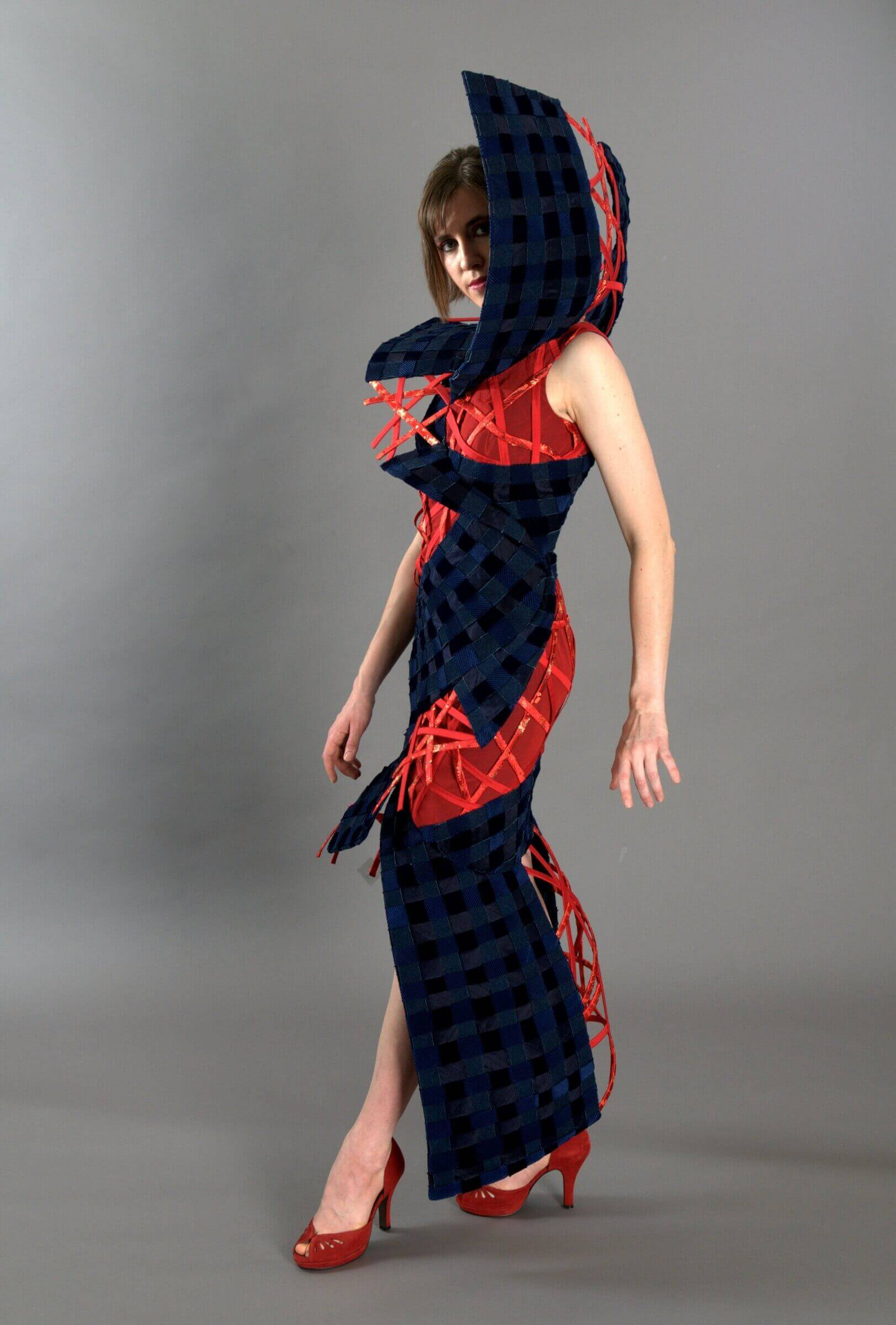 Wearable Art by Rebecca Wendlandt: Vortex - Allure of the Big Top