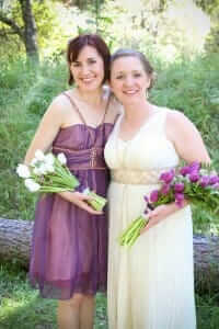 Bridesmaid dresses by Rebecca Wendlandt: Heidi