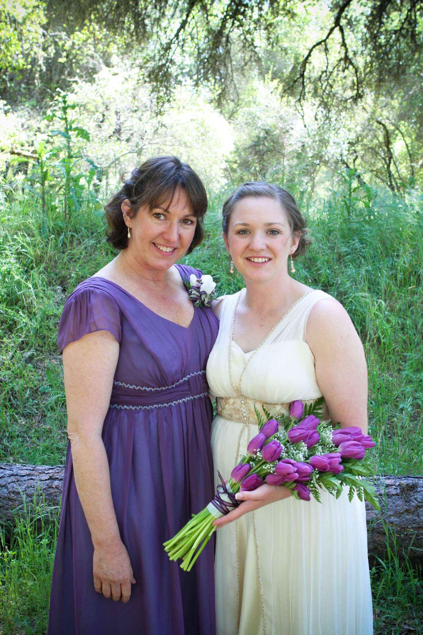 custom Dress for the Mother of the Bride by Rebecca Wendlandt