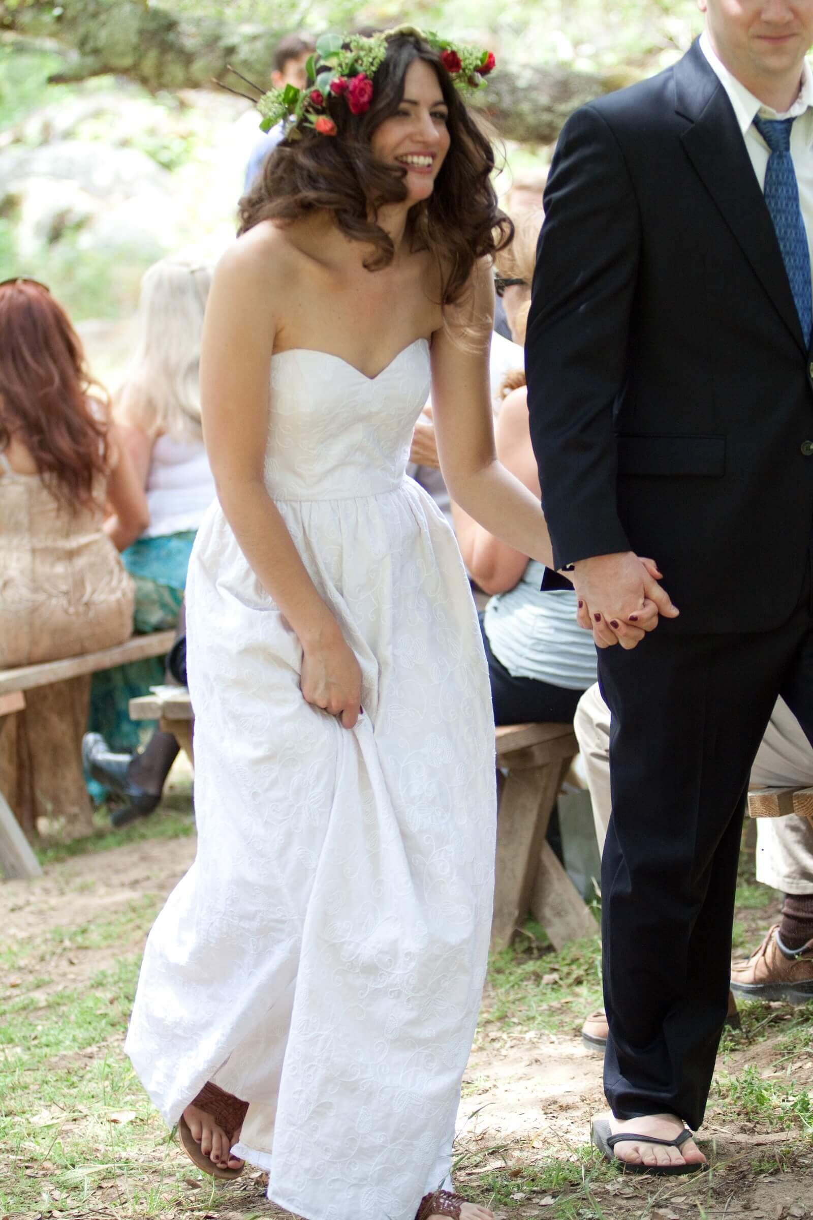 custom wedding dress for Felishia by Rebecca Wendlandt