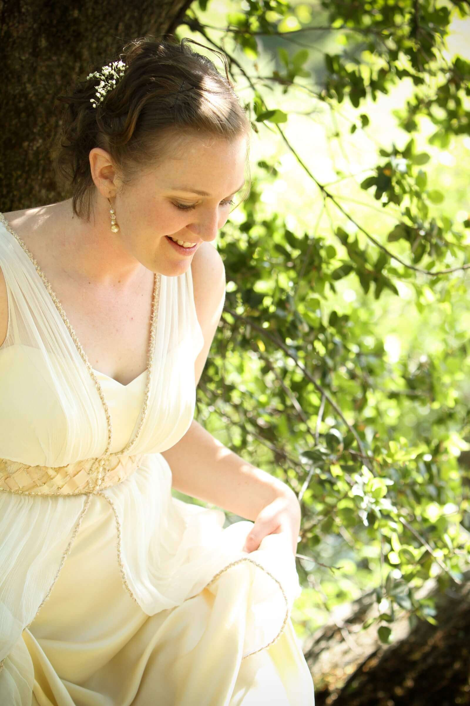 custom wedding dress for Heidi by Rebecca Wendlandt