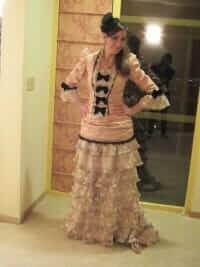 custom victorian costume for Lisa by Rebecca Wendlandt