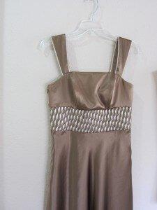 custom dress for Linda by Rebecca Wendlandt