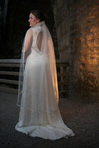 custom wedding dress for Abbey by Rebecca Wendlandt