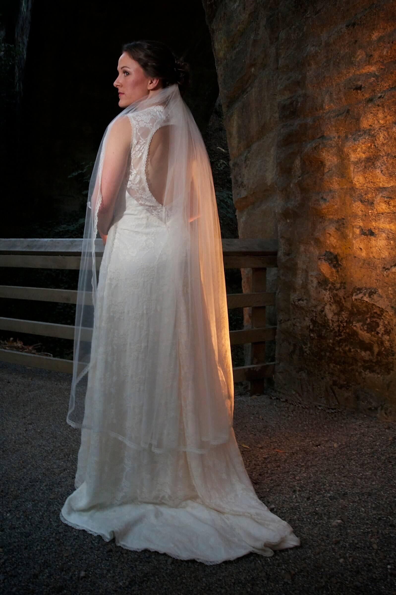 custom wedding dress for Abbey by Rebecca Wendlandt
