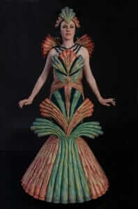 Wearable Art by Rebecca Wendlandt: Dinobryon Mystic - Back
