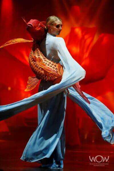 Wearable Art by Rebecca Wendlandt: Water Dancers - at WOW 2014