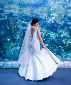 custom made wedding dress for Steph by Rebecca Wendlandt